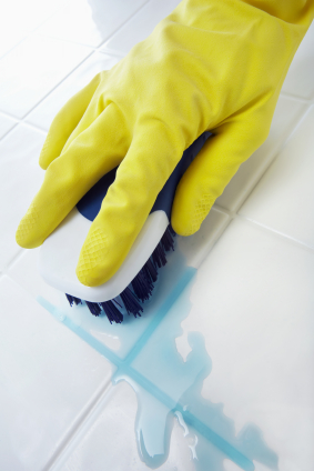 Cleaning House - Scrubbing the Floor