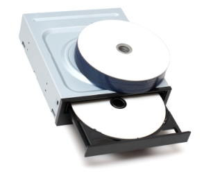 Drive and recordable disks