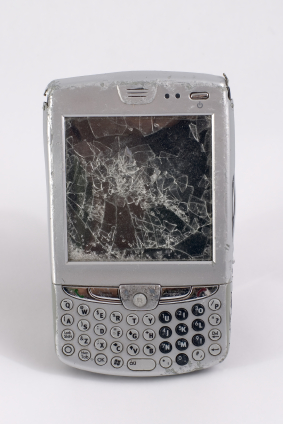 Broken PDA