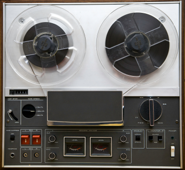 Vintage Reel-to-Reel Tape Player
