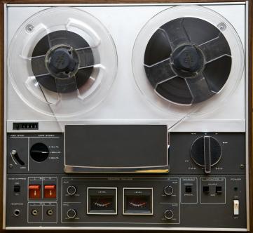 Vintage Reel-to-Reel Tape Player