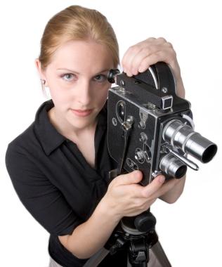VintageCameraWoman